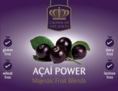Acai Berry Juice Label