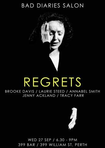 BDS Vol 3 Perth - Regrets (credit: Robert Lukins @robertlukins)