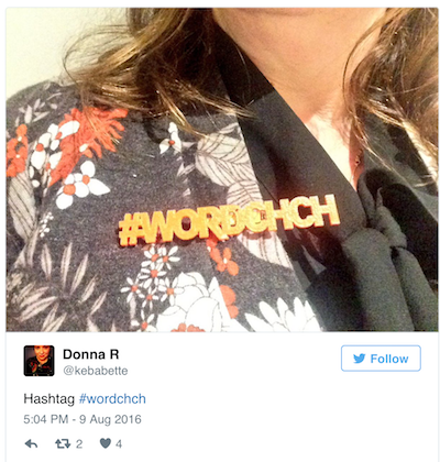 Hashtag wordchch