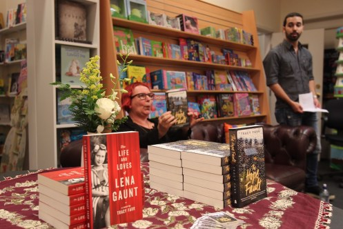 At Dymocks Busselton (credit Sarah Ison, Busselton Dunsborough Times)