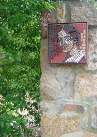 Mosaic of Katharine at KSP