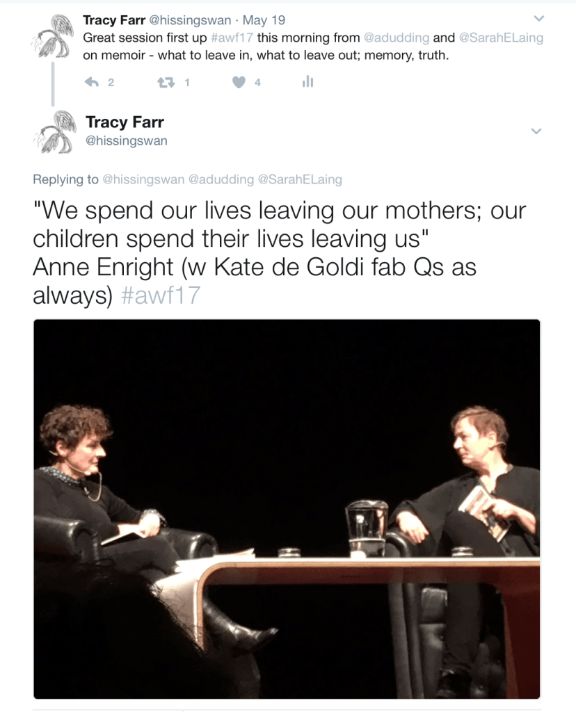 Anne Enright on mothers