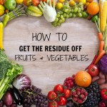 TIP #19 Get The Residue Off Fruits & Vegetables