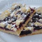 amish blueberry shortbread