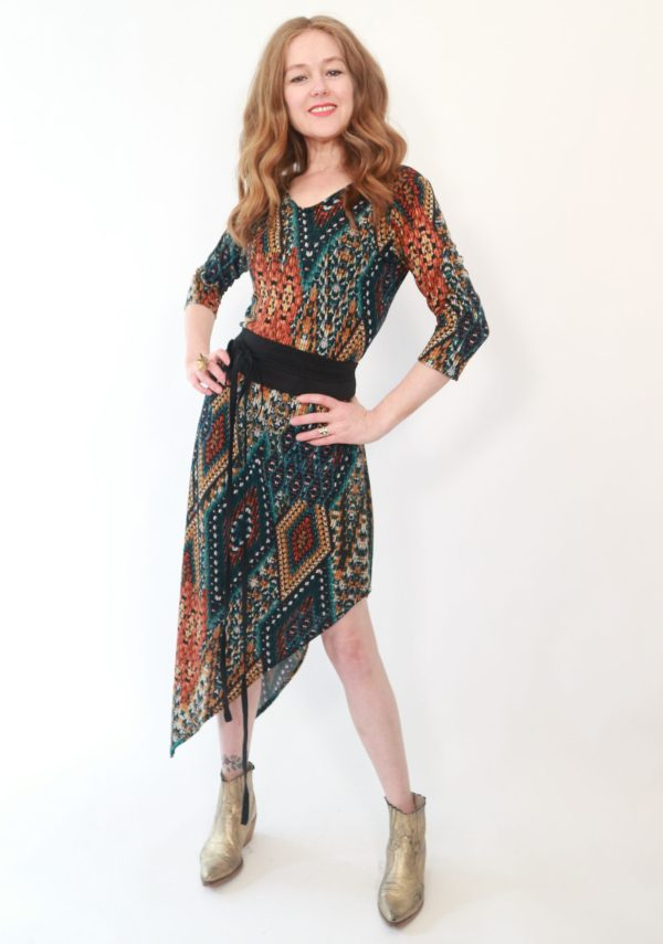 Tracy Gold Collection triangle dress 2