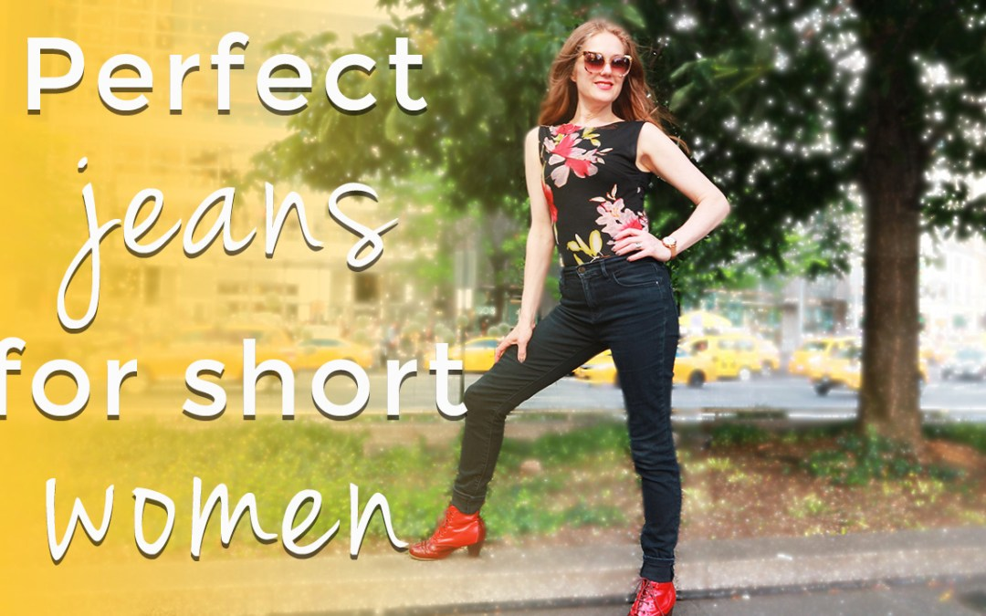 Perfect jeans for short women over 40