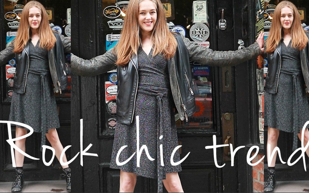 Fall trends for women over 40 - rock chic trend fall 2019