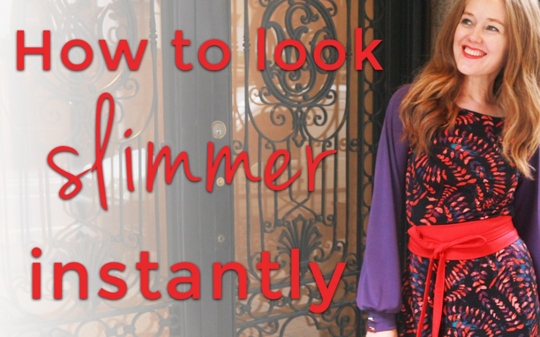 How to look slimmer instantly for women over 40 - my magic belts are back