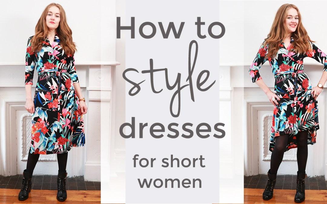 How to style dresses for short women - style tips for short women