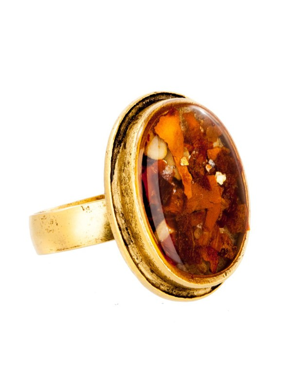 Tracy Gold Curated Illuminated Me Red Chili Ring