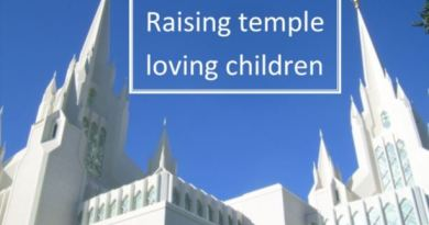 Raising Temple Loving Children