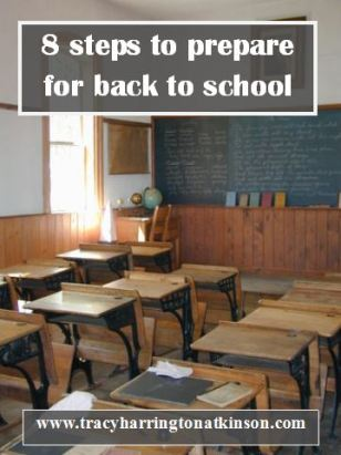 8 steps to prepare for back to school