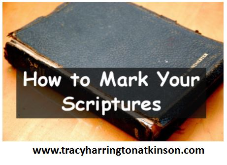 How to Mark Your Scriptures
