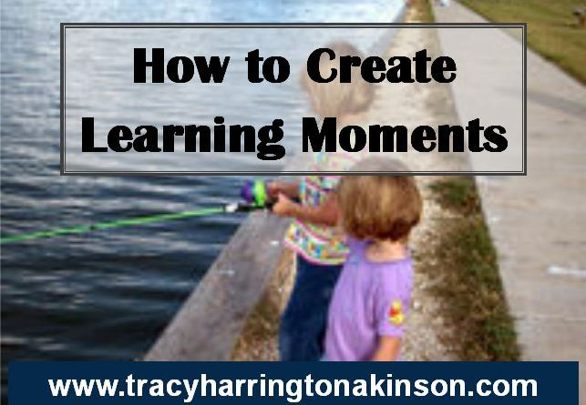 how to create learning moments