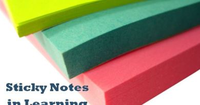Sticky Notes in Learning