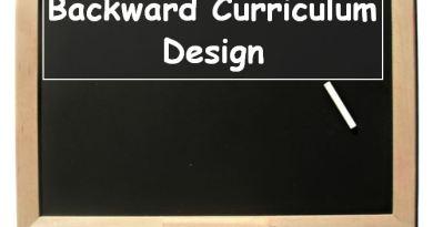 Backward Curriculum Design