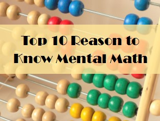 Mental Math Skills are Essential Lifelong Skills.