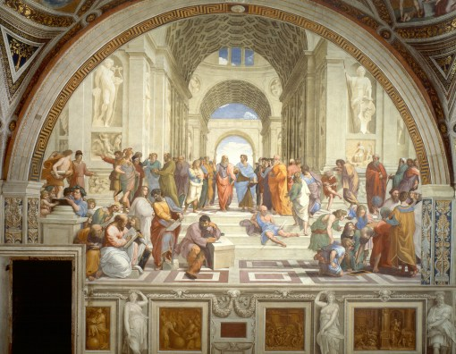School of Athens, painted by Raphael between 1509 and 1511