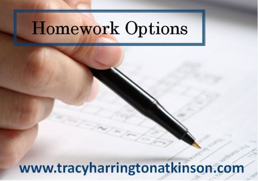 Homework Options for Assignments