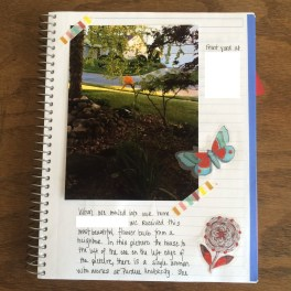 An example of a photo journal --- but it can be digital instead.