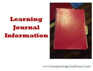 Learning Journal Information