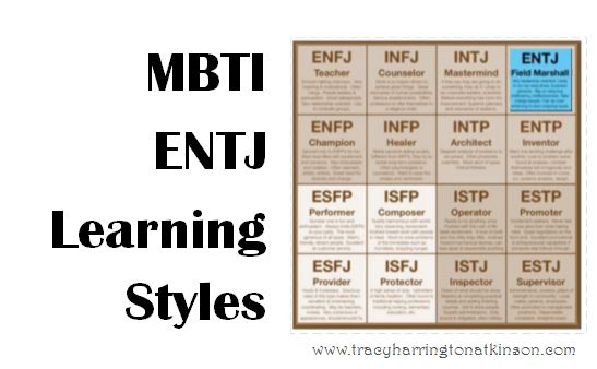 MBTI ENTJ (Extraversion, Intuition, Thinking, Judging) Learning Styles