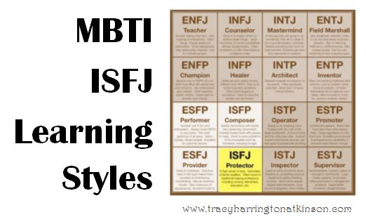 MBTI ISFJ (Introversion, Sensing, Feeling, Judging) Learning Styles