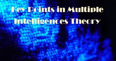 Key Points in Multiple Intelligences Theory