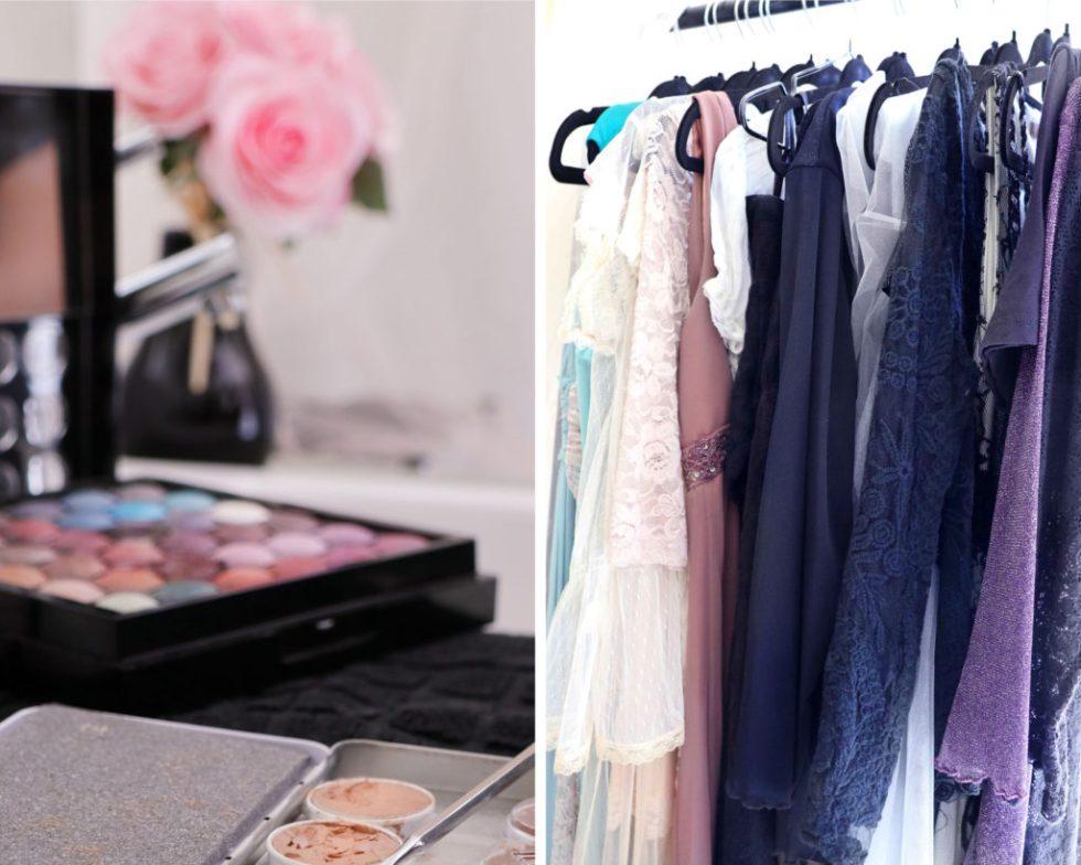 Wardrobe & makeup
