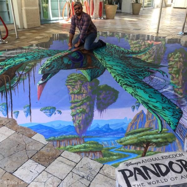 Tracy Lee Stum 3D Chalk Art