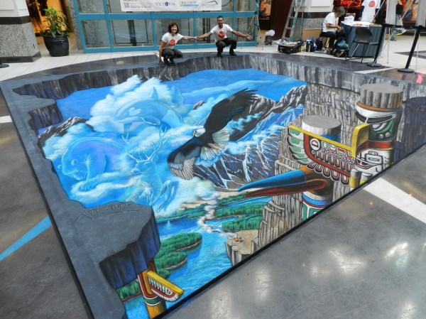 Victoria International Chalk Art Society Festival Tracy Lee Stum