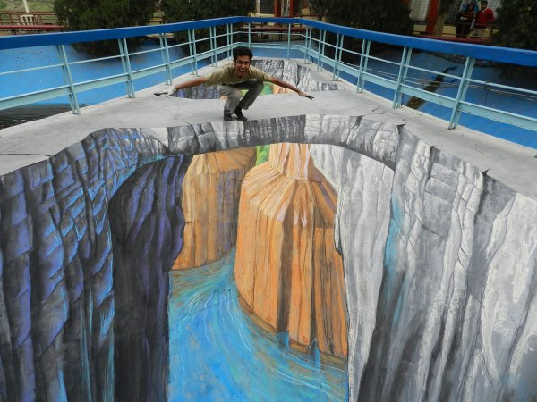 3d Chalk Artist Street Painting - Tracy Lee Stum