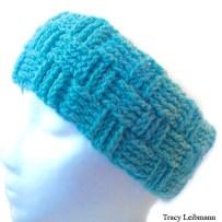 Headband Turquoise Basket Weave
