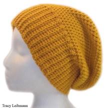 Cloche Beanie Hat Golden $34