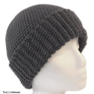 Cloche Beanie Hat Charcoal $34