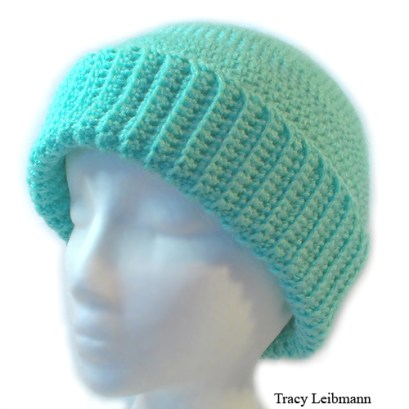 Cloche Beanie Hat, Minty Green