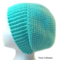 Cloche Beanie Hat Minty Green $34