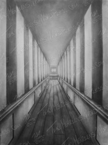 Depth of Lonely, Graphite on Paper, 18x24 in, 2012