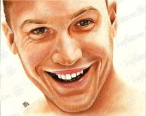 Tom Hardy, Pastel on Paper, 2012 - SOLD