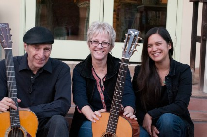 Photo of Gene Lippmann, Tracy Newman and Paula Fong aka Tracy Newman and the Reinforcements Trio