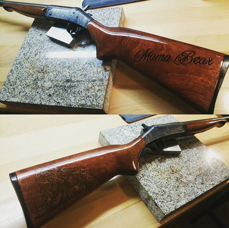 Finished Girlfriend Gun
