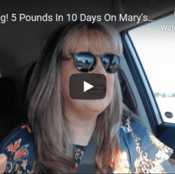 Mary's Mini - 10 Day Results