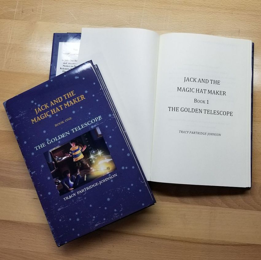 Jack and the Magic Hat Maker - Book One: The Golden Telescope - Hardcover