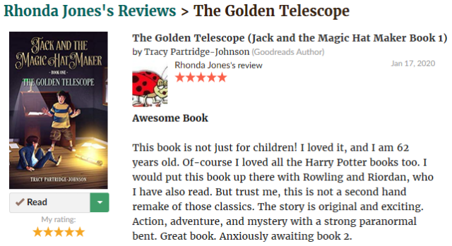 The Golden Telscope - Review 8