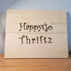 Thrift Gift Wooden Box