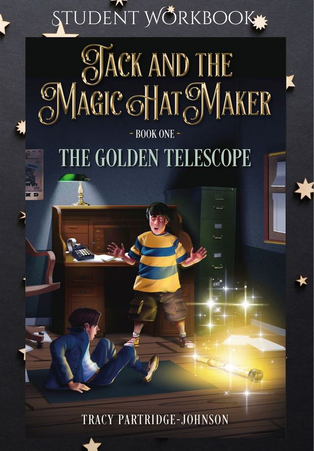 The Golden Telescope - Student Workbook - Front Cover