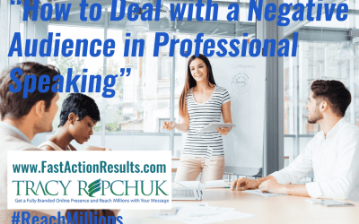 How to Deal with a Negative Audience in Professional Speaking