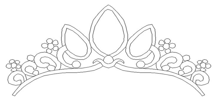 Easy Princess Crown Drawing