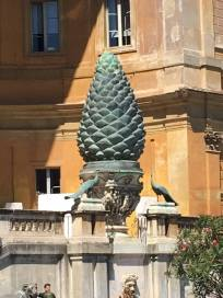 vatican museums peacock