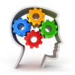 Brain with Cogs